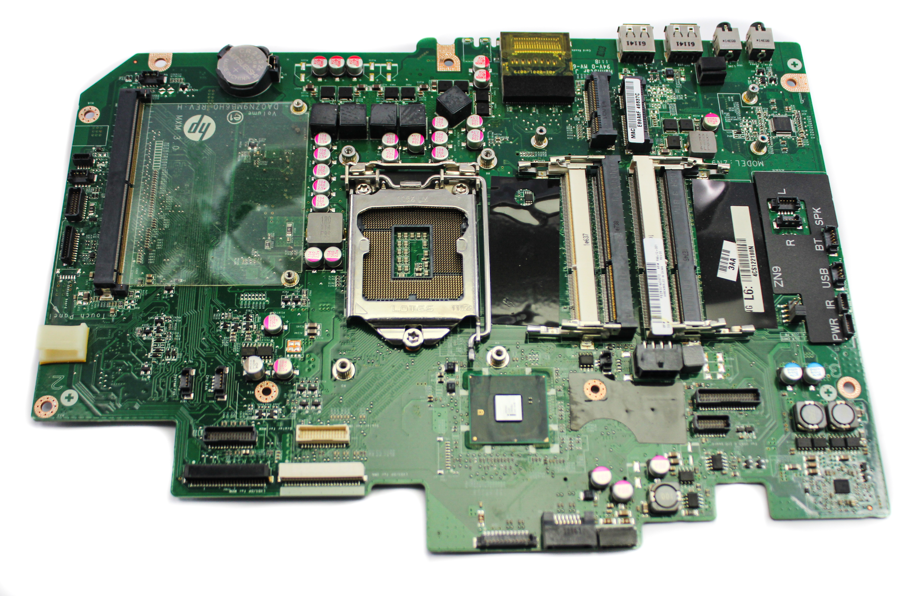 648512-001 HP Touchsmart 610 Intel System Motherboard DA0ZN9MB6H0 Rev H